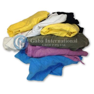Colour T-shirt Cotton Rags