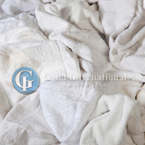 White Towel Cleaning Rags