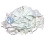 White T-Shirt Cotton Rags
